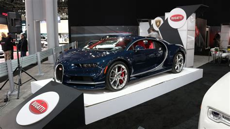 The bugatti chiron is meant to be the strongest, fastest, most luxurious and exclusive serial supercar in the world. Bugatti Chiron U.S. Spec at 2017 New York Auto Show   Bugatti chiron, Bugatti, Bugatti 2017