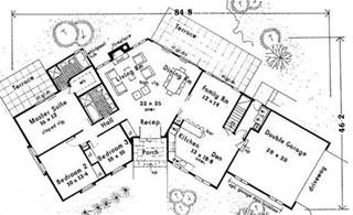 ranch house plans open floor plan open space ranch 6991 3 bedrooms and 2 5 baths the