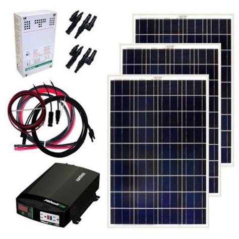 how many watts does a box fan use grape solar 300 watt off grid solar panel kit gs 300 kit