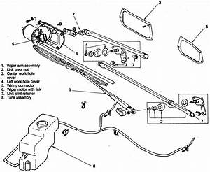 pickup truck parts diagram 1994 nissan wiring get free With tundra wiper motor replacement motor repalcement parts and diagram