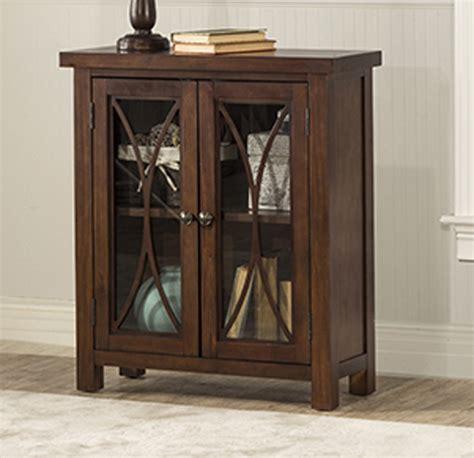 bayside cabinets bayside 2 door accent cabinet rustic mahogany hillsdale