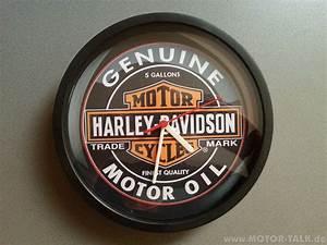 Harley Davidson Wanduhr : harley davidson uhr wanduhr genuine motor oil biete ~ Whattoseeinmadrid.com Haus und Dekorationen