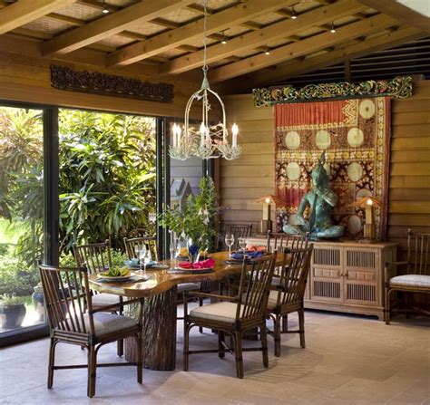 Dining Room  Tropical  Dining Room  Hawaii  By Ike