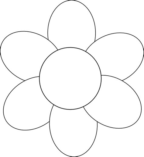 free flower templates flower template free printable search applique templates flower