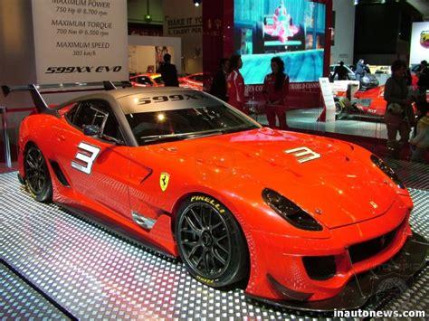 Ferrari 599xx Evolution Revealed  Autospies Auto News