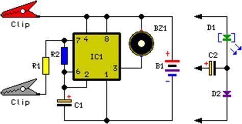 How Build Water Level Alert Circuit Schematic
