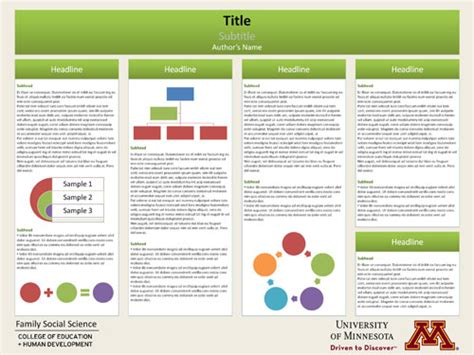 poster samples poster template research poster presentations pinterest