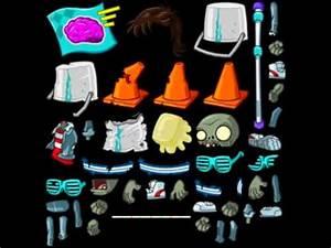 PvZ 2 Neon Mixtape Tour zombie textures