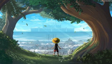 monkey  luffy  piece art hd laptop wallpaper