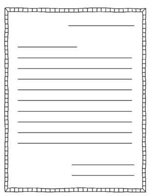 letter writing templates teacher  letter writing