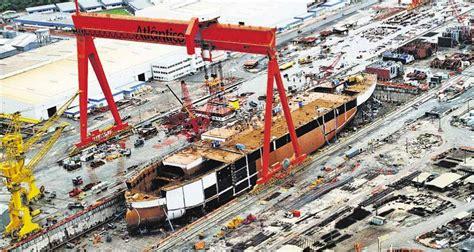 Barco A Vapor Primeiro by 1 200 Vagas No Estaleiro Atl 226 Ntico Sul Desenvolvimento
