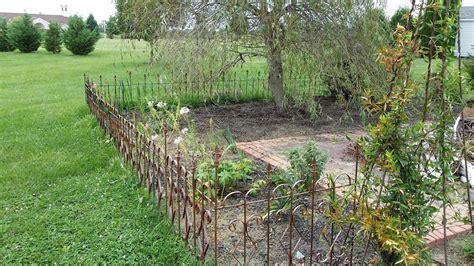 garden border fence gorgeous garden border fencing jbeedesigns outdoor