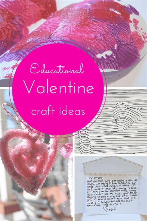 love school educational valentine craft ideas