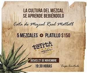 Tata Mezcalería + Cocina de Autor » Cata de mezcal Real ...