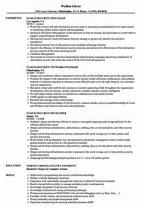 cloud security resume samples velvet jobs With cloud security architect resume