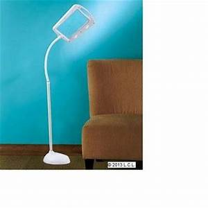 new flexible led floor lamp w full page 5x magnifier for With full page magnifier floor lamp 5x
