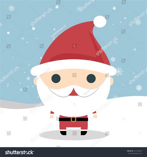 Santa Claus Card By Benchart Vectors Eps Santa Claus Vector Santa Claus Wave Vector
