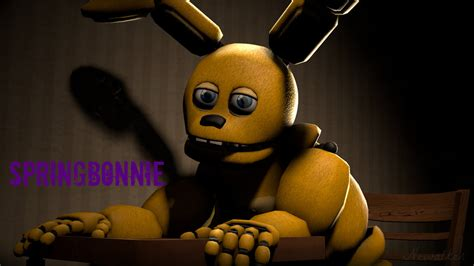 Five Nights At Freddy S Animated Wallpaper - springbonnie five nights at freddy s wallpaper by