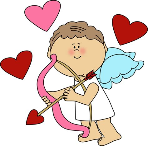 Cupid Clipart Cupid With Hearts Clip Cupid With Hearts Image