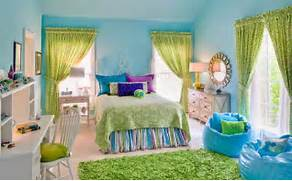 Girls Bedroom Ideas Blue And Green by 15 Bedrooms Of Lime Green Accents Home Design Lover
