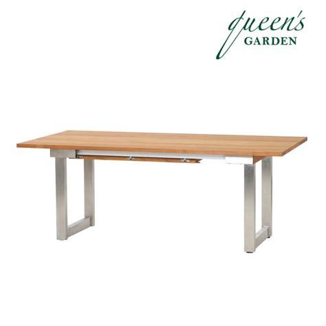 Ausziehbarer Gartentisch Holz by Gartentisch 187 Lorentz 171 Ausziehbar Aus Holz Gartentraum De