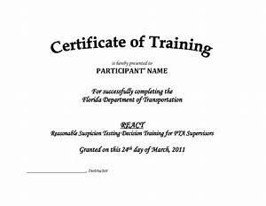 certificate of attendance seminar template - training certificate template pdf blank certificates