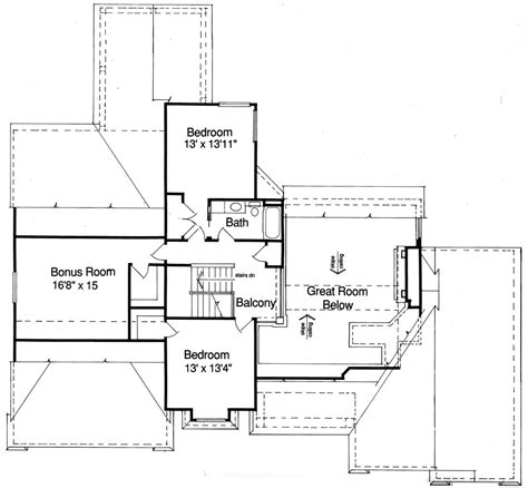 the house designers house plans coventry 9088 4 bedrooms and 2 baths the house designers