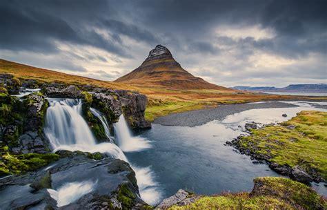 "Mt,kirkjufell,,,iceland  ""we Live In A Beautiful World"