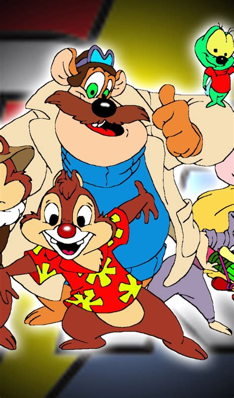 chip and dale rescue rangers desktop wallpapers 600x1024