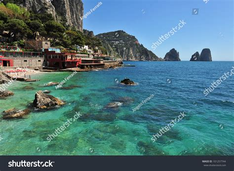 The Beautiful Capri Island In Italy Naples Stock Photo