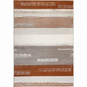 tapis orange et gris moderne dreaming esprit 200x290 With tapis orange et gris