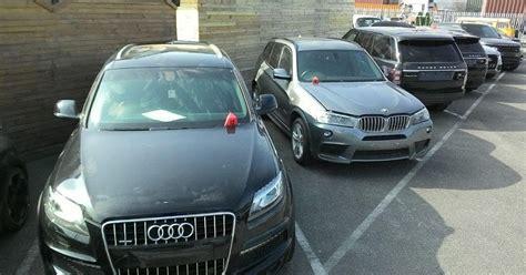 Fleet Of Stolen Luxury Cars Worth £1million Returned To