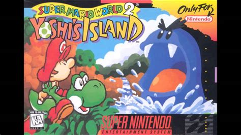 Super Mario World 2 Yoshis Island Title Screen