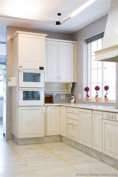 Whitewashed Cabinets by Pictures Of Kitchens Traditional Whitewashed Cabinets