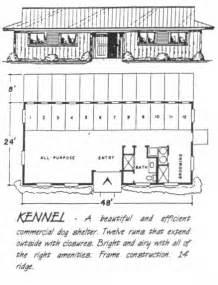 Dog Boarding Kennel Design Plans