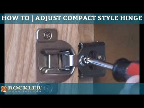 how to adjust hinges on kitchen cabinets adjusting blum compact style hinges 9286