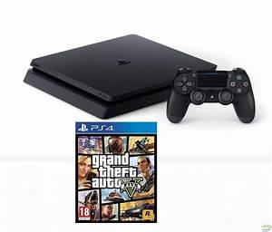 Sony PlayStation 4 PS4 500 Gt Slim GTA V Bundle