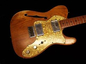 Fender  U0026 39 Tribute U0026quot  Custom Shop Masterbuilt  U0026 39 72 Thinline