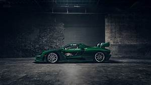 Wallpaper McLaren Senna GTR Green Carbon, supercar, 2018