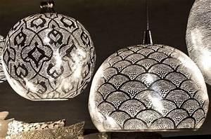 Lustre En Cuivre : lustre oriental vente lustre marocain moderne argent cuivre pas cher ~ Teatrodelosmanantiales.com Idées de Décoration