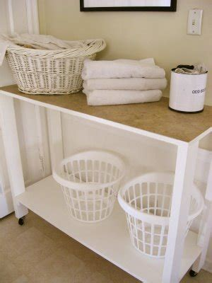 Laundry Room Folding Table  Simple Home Decoration