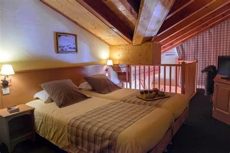 chambre suite hotel chambres et suites de l 39 hôtel de levanna à tignes