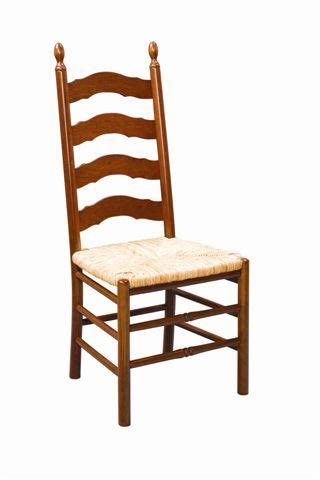 country ladder back chair amish dining chairs