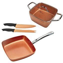 copper chef electric frying pan frying pan