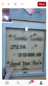 diy old cabinet door upcycle to family room wall art With what kind of paint to use on kitchen cabinets for twinkle twinkle little star vinyl wall art