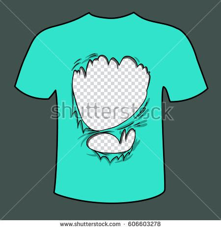 Torn T Shirt Template by Ripped Fabric Stock Images Royalty Free Images Vectors