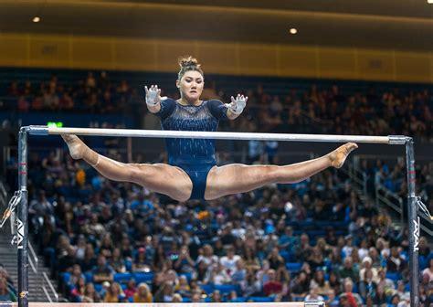 gallery ucla gymnastics finishes strong  season opener