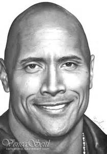 Dwayne Johnson Drawing