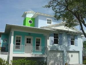 house exterior painting from simple to modern decohoms With light blue paint for tropical home design