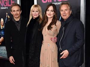 Melanie Griffith and Don Johnson Support Dakota Johnson at ...